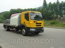 凌扬牌PC5160THB4FXB型车载式混凝土泵车