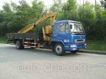 凌扬(FXB)牌PC5161JSQLZ型随车起重运输车