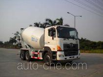 凌扬牌PC5252GJB4RY型混凝土搅拌运输车