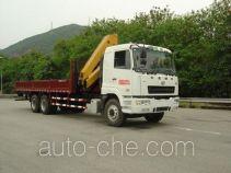 凌扬(FXB)牌PC5251JSQ4HLQ型随车起重运输车