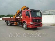 凌扬(FXB)牌PC5250JSQHW3型随车起重运输车