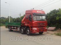 凌扬(FXB)牌PC5250JSQL4型随车起重运输车