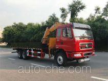 凌扬(FXB)牌PC5250JSQLZ3型随车起重运输车