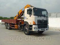 凌扬(FXB)牌PC5250JSQRY型随车起重运输车