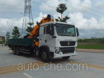 凌扬(FXB)牌PC5251JSQHW4型随车起重运输车