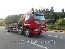 凌扬(FXB)牌PC5251JSQLZ型随车起重运输车