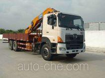 凌扬(FXB)牌PC5252JSQ4RY型随车起重运输车