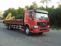 凌扬(FXB)牌PC5253JSQ型随车起重运输车