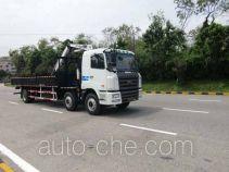 凌扬(FXB)牌PC5253JSQHL型随车起重运输车