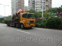 凌扬牌PC5255JSQHL5型随车起重运输车