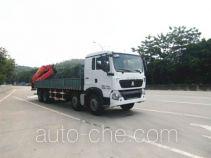 凌扬(FXB)牌PC5310JSQHW4型随车起重运输车