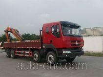 凌扬(FXB)牌PC5310JSQLZ型随车起重运输车