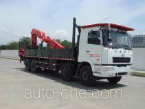 凌扬(FXB)牌PC5311JSQ4HL型随车起重运输车