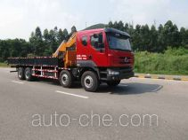 凌扬(FXB)牌PC5311JSQLZ型随车起重运输车