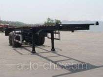 Haifulong PC9350TWY dangerous goods tank container skeletal trailer