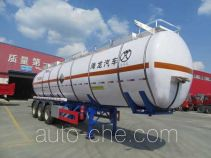 Haifulong PC9400GFWC corrosive materials transport tank trailer