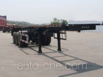 Haifulong PC9400TWYA dangerous goods tank container skeletal trailer