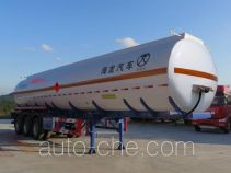 Haifulong PC9401GRYF flammable liquid aluminum tank trailer