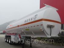 Haifulong PC9401GRYK flammable liquid aluminum tank trailer