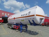 Pucheng PC9403GRYD1 flammable liquid tank trailer