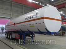 Haifulong PC9403GRYK flammable liquid tank trailer