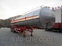 Pucheng PC9404GRYB flammable liquid tank trailer