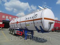 Haifulong PC9404GRY4 flammable liquid tank trailer