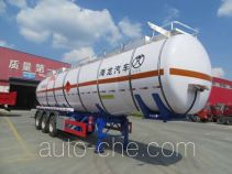 Pucheng PC9404GRYF flammable liquid tank trailer
