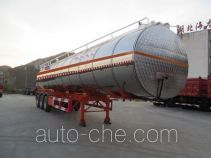 Haifulong PC9405GYSA aluminium liquid food tank trailer