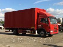 Sutong (FAW) PDZ5160XYKAE5 автофургон с подъемными бортами (фургон-бабочка)