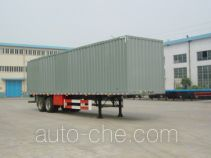 Sutong (FAW) PDZ9271XXY box body van trailer