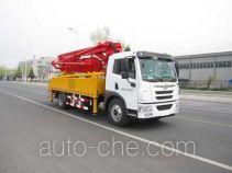 吉鲁恒驰牌PG5160THB型混凝土泵车