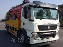 吉鲁恒驰牌PG5200THB型混凝土泵车