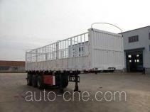 吉鲁恒驰牌PG9370CCY型仓栅式运输半挂车