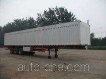 Jilu Hengchi PG9400XXY box body van trailer