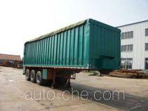 蓬莱牌PG9400ZLS型散装粮食运输半挂车