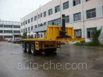 Jilu Hengchi PG9405ZZXP flatbed dump trailer