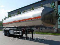 Jinbi PJQ9351GYYL aluminium oil tank trailer