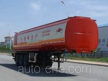 Jinbi PJQ9390GHY chemical liquid tank trailer