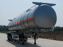 Jinbi PJQ9400GRYA flammable liquid tank trailer