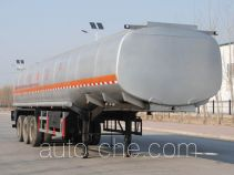 Jinbi PJQ9400GRYH flammable liquid tank trailer