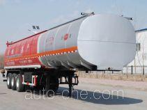 Jinbi PJQ9401GRYH flammable liquid tank trailer