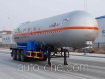 Jinbi PJQ9401GYQ liquefied gas tank trailer