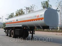 Jinbi PJQ9402GFW corrosive materials transport tank trailer