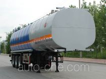 Jinbi PJQ9402GRYH flammable liquid tank trailer