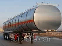 金碧牌PJQ9402GRYL型铝合金易燃液体罐式运输半挂车