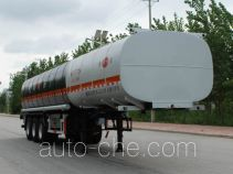 Jinbi PJQ9403GRYH flammable liquid tank trailer