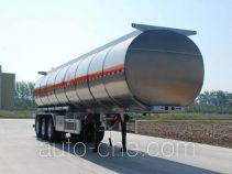 Jinbi PJQ9403GRYL flammable liquid aluminum tank trailer