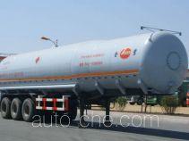 Jinbi PJQ9404GHY chemical liquid tank trailer