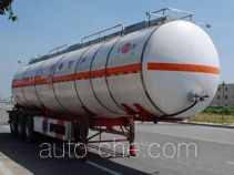 Jinbi PJQ9404GRYC flammable liquid tank trailer